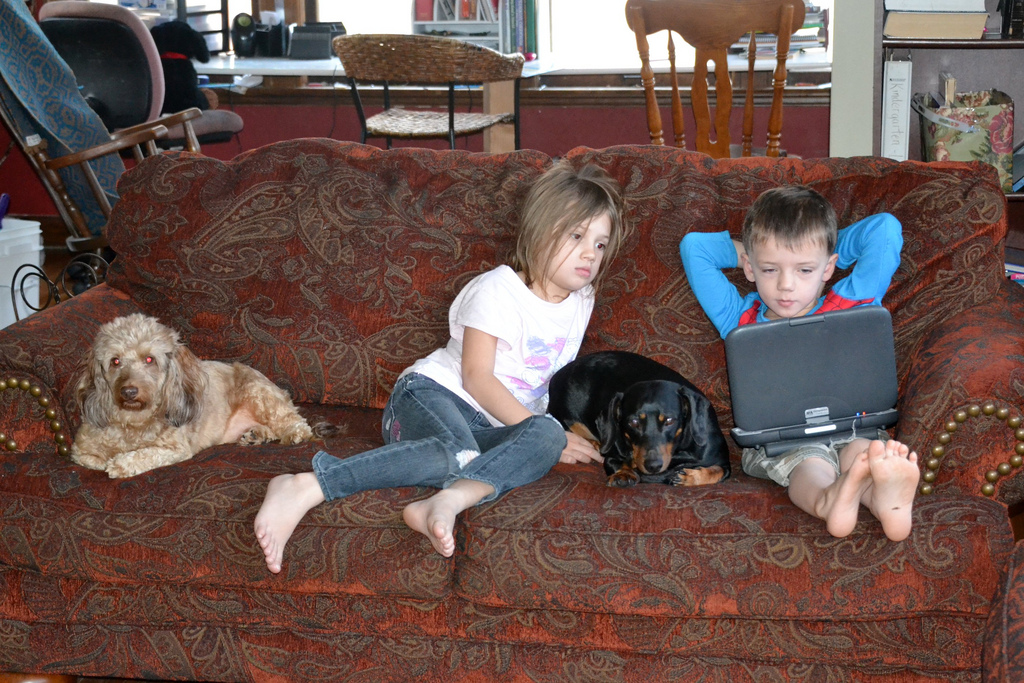 how to protect your children from laptop radiation